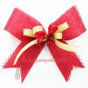 80元緞帶花-貴氣紅[T2]