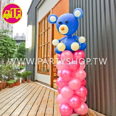 動物氣球柱/1柱