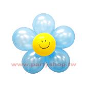 圓-S-(淺藍)微笑球花DIY/2組入[T3]